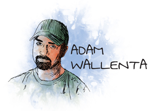 Adam Wallenta logo