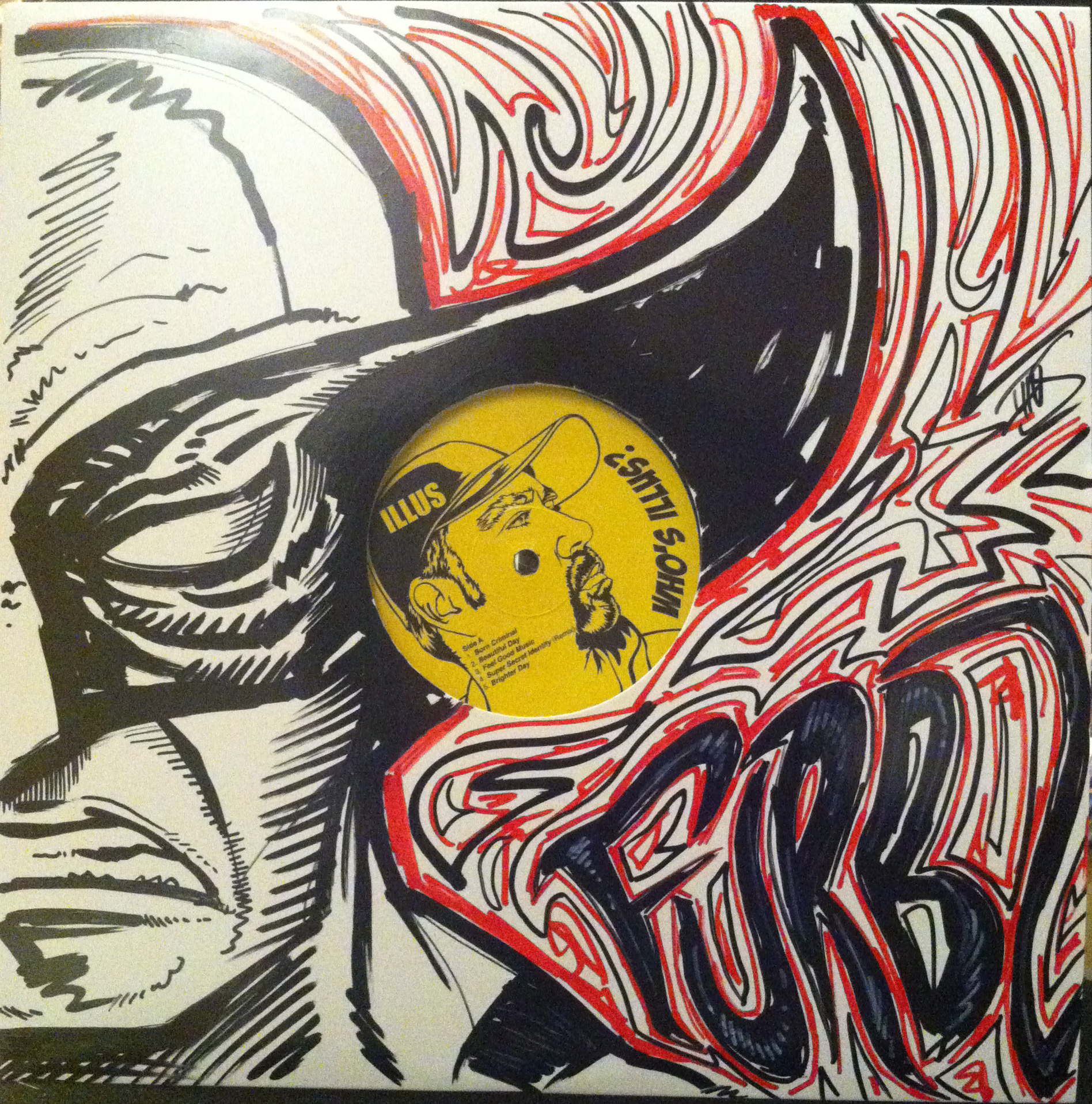 Who S Illus Limited 12 Inch With Original Sketch Cover