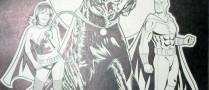 Custom Superhero Commission by Adam Wallenta