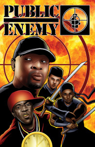 PUBLIC ENEMY Volume 1 by Adam Wallenta and Chuck D