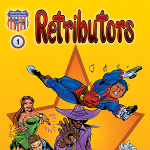Retributors #1-3 by Adam Wallenta and Peov