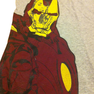Limited Edition Iron Man T-Shirt (Only 25 hand screened shirts made)