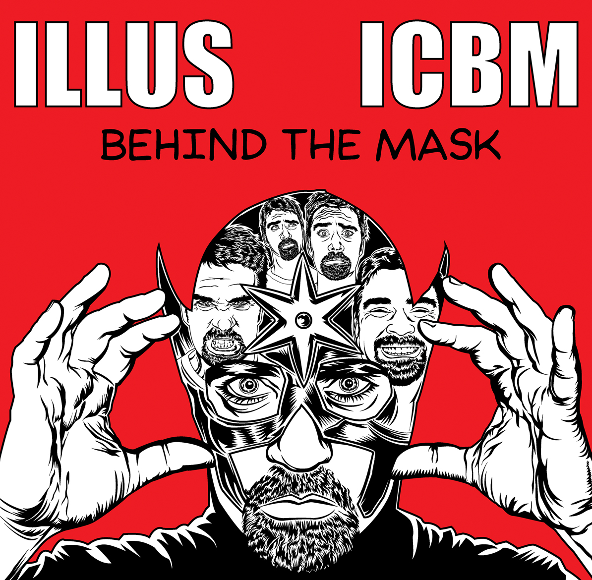 ILLUS: Behind the Mask. Illustrated by Adam Wallenta.