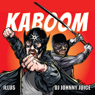 """Kaboom"" Album Cover. Illustration by Adam Wallenta"