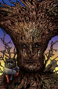 Groot and Rocket by Adam Wallenta