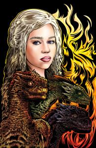 Daenerys Targaryen: Mother of Dragons by Adam Wallenta