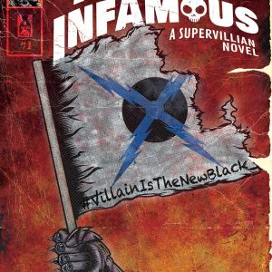 Almost Infamous: Cover Illustration by Adam Wallenta