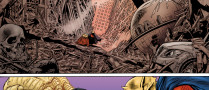 DC Comics Halloween Special Page 46. Colors by Adam Wallenta