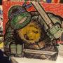 Leonardo Vinyl Sketch Cover by Adam Wallenta