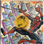 Spiderman Vinyl Sketch Cover