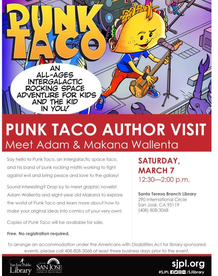 Punk Taco Flyer