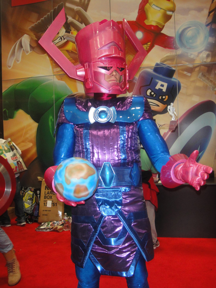 Galactus!!!!! Just one of the many amazing cosplay costumes I witnessed.