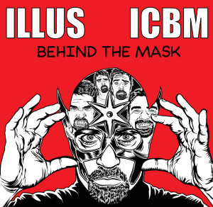 Behind the Mask album cover illustrated by Adam Wallenta
