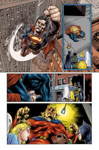DC Comics Halloween Special Page 47. Colors by Adam Wallenta