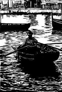 Row Boat by Adam Wallenta