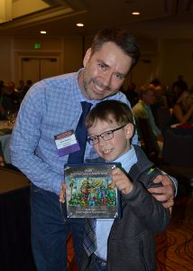 "Adam Wallenta and Makana win the RINGO Award for ""Best Kids Comic or Graphic Novel"""
